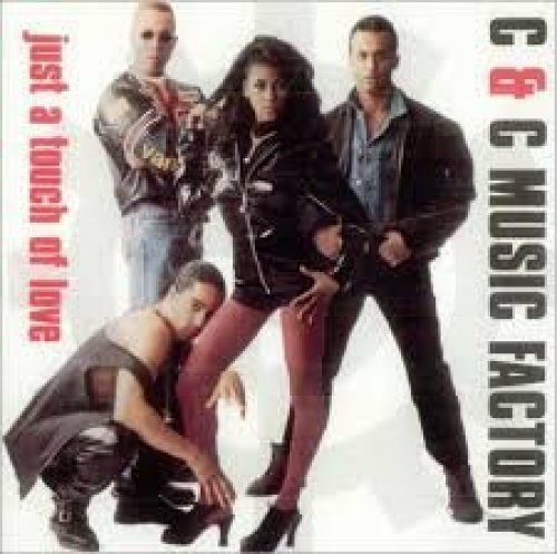 Bild 1: C & C Music Factory, Just a touch of love.. (US, 4 versions, 1991)