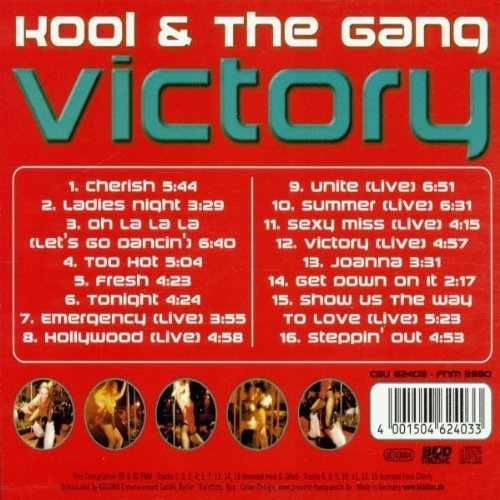 Bild 2: Kool & the Gang, Victory (compilation, 16 tracks, incl. 7 live recordings)