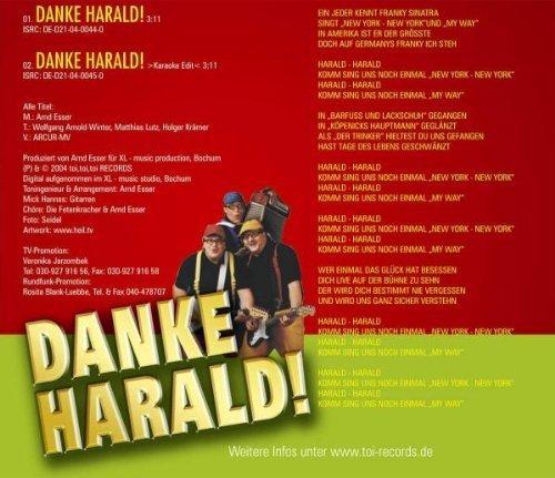 Bild 2: Die Fetenkracher, Danke Harald! (2 tracks, 2004)