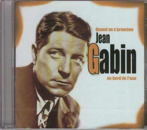 Bild 1: Jean Gabin, Quand on s'promène au bord de l'eau (compilation, 20 tracks, feat. Mistinguett, Gaby Basset..)