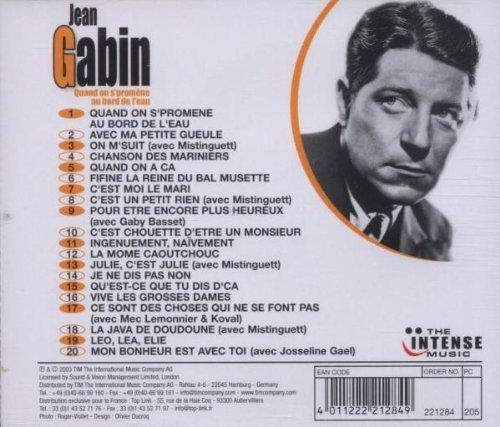 Bild 2: Jean Gabin, Quand on s'promène au bord de l'eau (compilation, 20 tracks, feat. Mistinguett, Gaby Basset..)