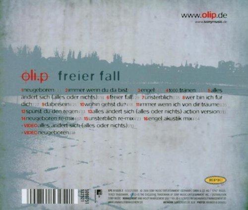 Bild 2: Oli. P, Freier Fall (2004)