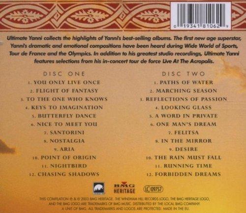 Bild 2: Yanni, Ultimate (24 tracks, 2003)