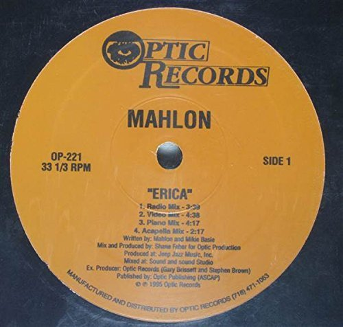 Bild 1: Mahlon, Erica (US, 4 versions, 1995, b/w 'Something about your love')