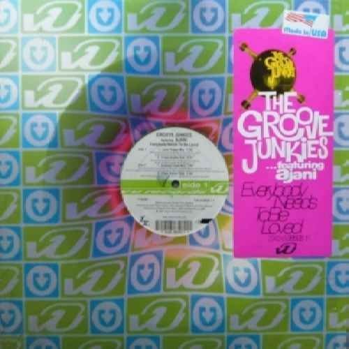 Bild 1: Groove Junkies, Everybody needs to be loved (4 versions, 1997, feat. Ajani)