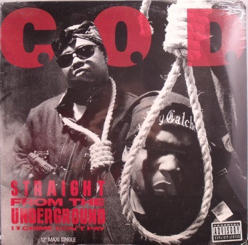 Bild 1: C.O.D., Straight from the underground/Crime don't pay (Vocal/Instr. each, 1993, US)