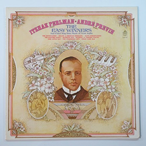 Bild 1: Itzhak Perlman, Easy winners-And other rag-time music of Scott Joplin (& André Previn)