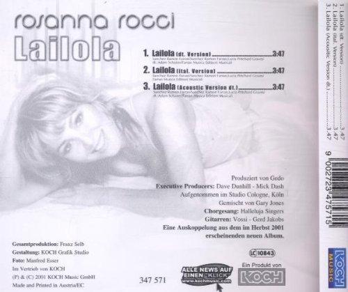 Bild 2: Rosanna Rocci, Lailola (2001)