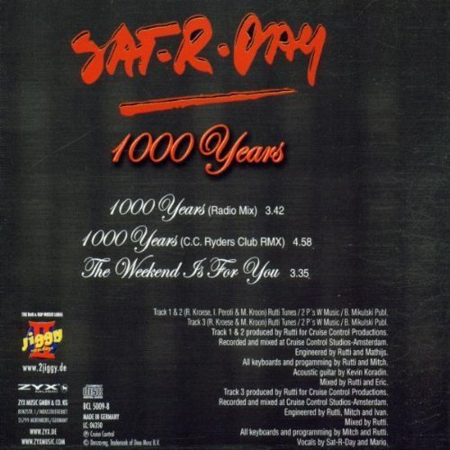 Bild 2: Sat-r-day, 1000 years (#zyx/bcl5009; incl. 2 versions)