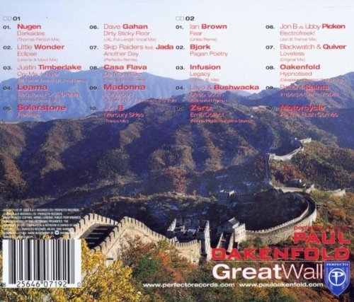 Bild 2: Paul Oakenfold, Great wall (2003)