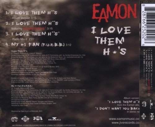 Bild 2: Eamon, I love them *o's (2004, #6625202, feat. Ghostface)