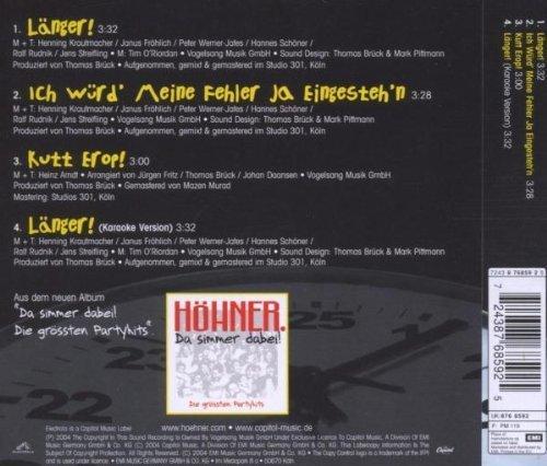 Bild 2: Höhner, Länger! (2004)