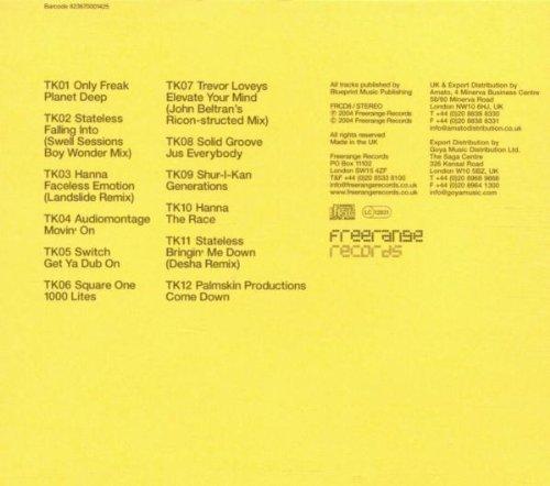 Bild 2: Freerange Records Colour Series: Yellow 01 (UK, 2004), Only Freak, Stateless, Hanna, Square One, Trevor Loveys..