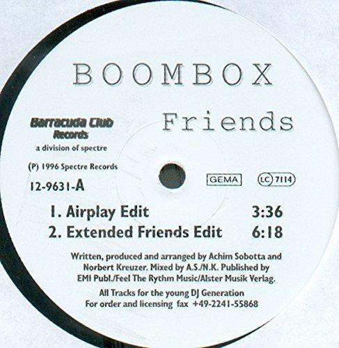 Image 1: Boombox, Friends (3 versions, 1996)