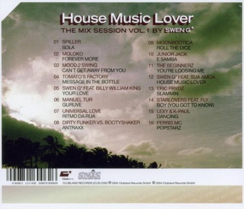 Bild 2: Swen G, House music lover-The mix session 1 (2004)