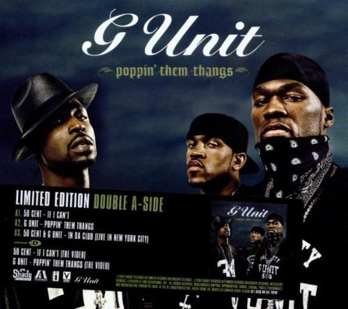 Bild 2: 50 Cent, If I can't & G-Unit 'Poppin' them thangs' (ltd. edition double a-side, 2004, foc-cardsleeve)