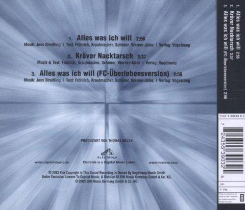 Bild 2: Höhner, Alles was ich will (2003)
