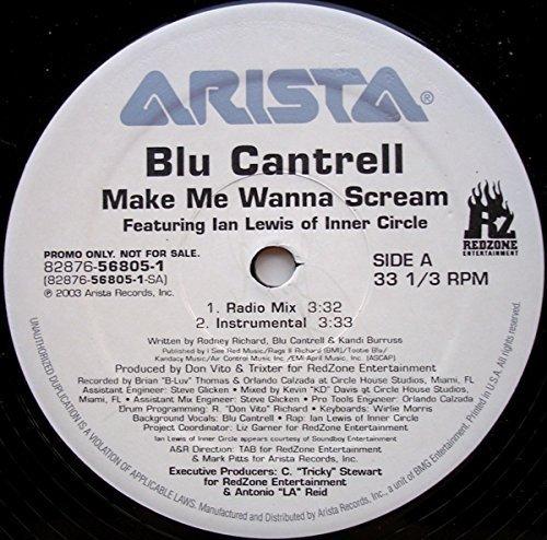 Bild 1: Blu Cantrell, Make me wanna scream (Mph Remix/Instr., 2003, plus 'Round up [& Lady May]')