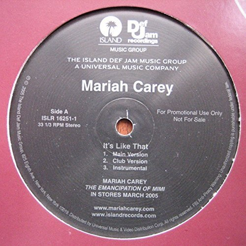 Bild 1: Mariah Carey, It's like that (US, 3 versions, 2005)
