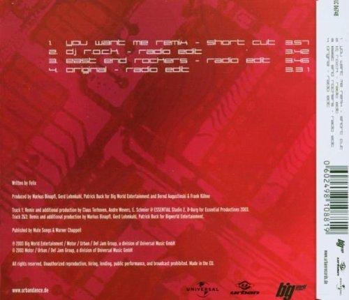 Bild 2: NFK, Don't you want me (2003, feat. East End Rockers)