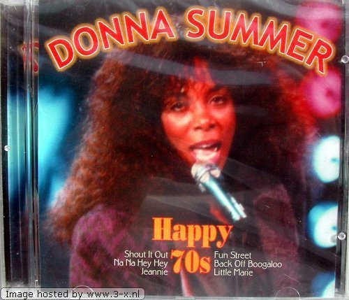 Bild 1: Donna Summer, Happy 70s (compilation, 9 tracks, #fnm3586)