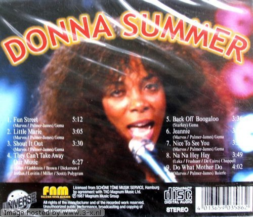 Bild 2: Donna Summer, Happy 70s (compilation, 9 tracks, #fnm3586)