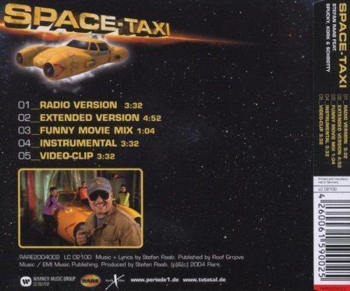 Bild 2: Stefan Raab, Space-taxi (2004, feat. Spucky, Kork & Schrotty)