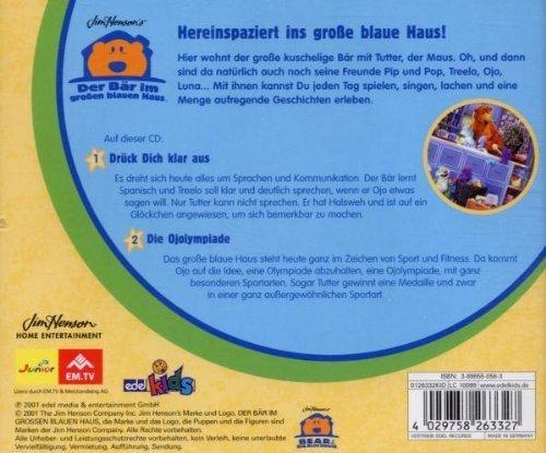 Bild 2: Der Bär im großen blauen Haus, 09-Drück dich klar aus/Die Ojolympiade