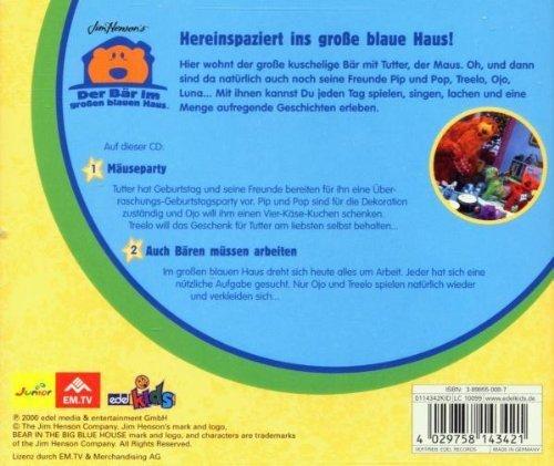 Bild 2: Der Bär im großen blauen Haus, 05-Mäuseparty/Auch Bären müssen arbeiten
