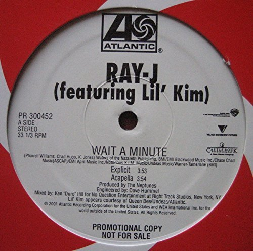 Bild 1: Ray-J, Wait a minute (US, 4 versions, 2001, feat. Lil' Kim)