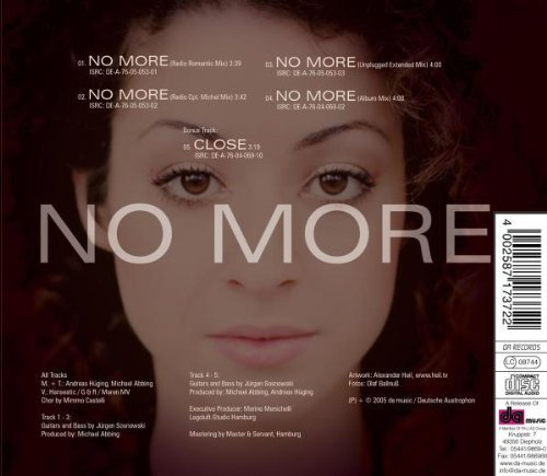 Bild 2: Janette Criscuoli, No more (2005)