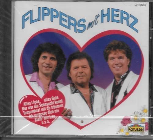 Bild 1: Flippers, Mit Herz (compilation, 14 tracks, 1970-91/94, Karussell)