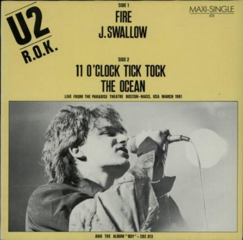 Bild 1: U2, Fire/J.Swallo (+2 live tracks)