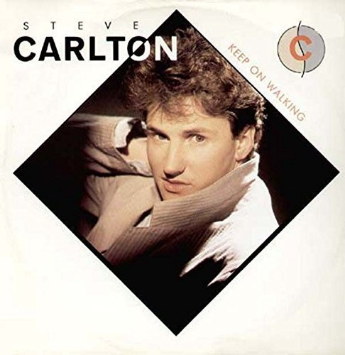 Bild 1: Steve Carlton, Keep on walking (Marathon Mix, 1986, UK)