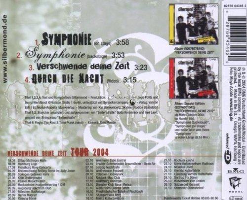 Bild 2: Silbermond, Symphonie (on stage/backstage, 2004, plus 'Verschwende deine Zeit', 'Durch die Nacht [video]')