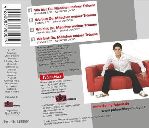 Bild 2: Denny Fabian, Wo bist du, Mädchen meiner Träume (2005)