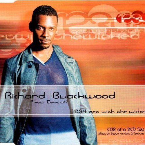 Bild 1: Richard Blackwood, 1.2.3.4 get with the wicked-CD2 (2000, feat. Deetah)