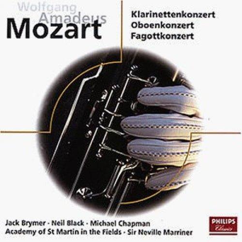 Bild 1: Mozart, Klarinetten-, Oboen-, Fagottkonzerte, KV 622, 314, 191 (1972/73, Philips) (Academy of St. Martin-in-the-Fields/Sir Neville Marriner)
