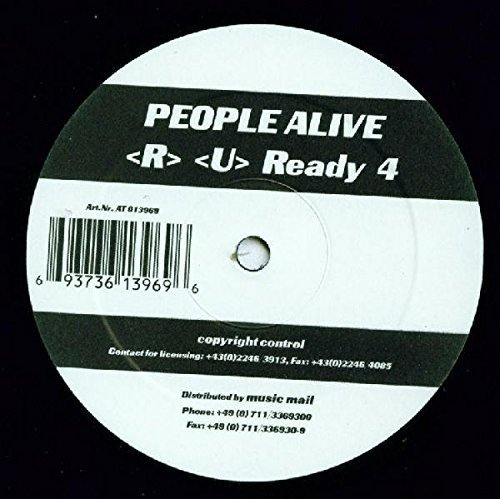 Bild 1: People Alive, <R> <u> ready 4