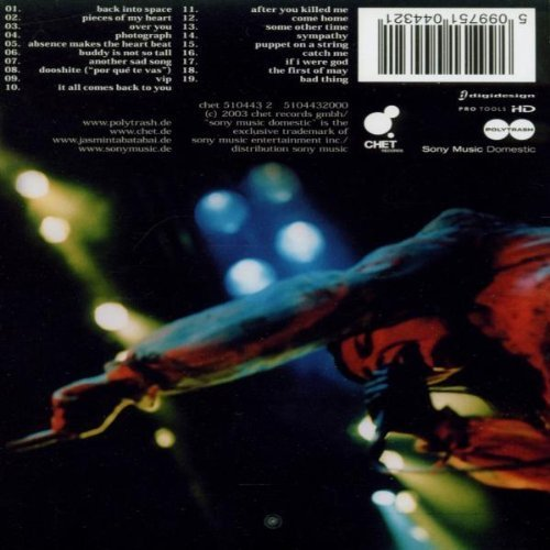 Bild 2: Jasmin Tabatabai, Only live (2003)