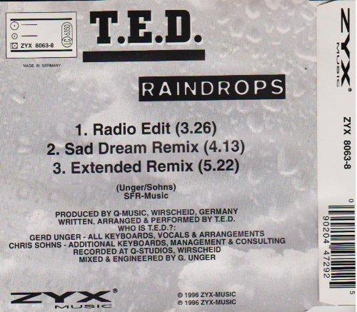 Bild 2: T.E.D., Raindrops (#zyx8063)