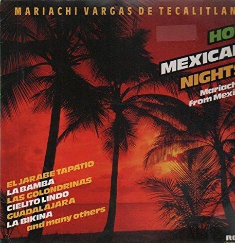 Bild 1: Mariachi Vargas de Tecalitlán, Hot Mexican nights (compilation, 1982)