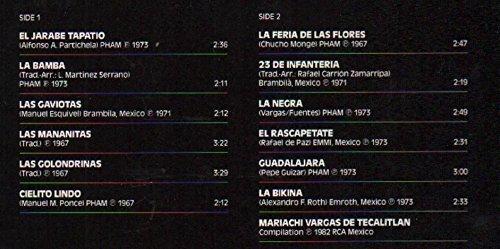 Bild 2: Mariachi Vargas de Tecalitlán, Hot Mexican nights (compilation, 1982)