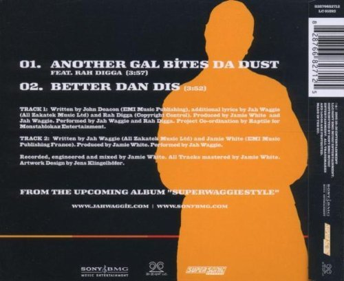 Bild 2: Jah Waggie, Another gal bites da dust (feat. Rah Digga, 2005, plus 'Better dan dis')