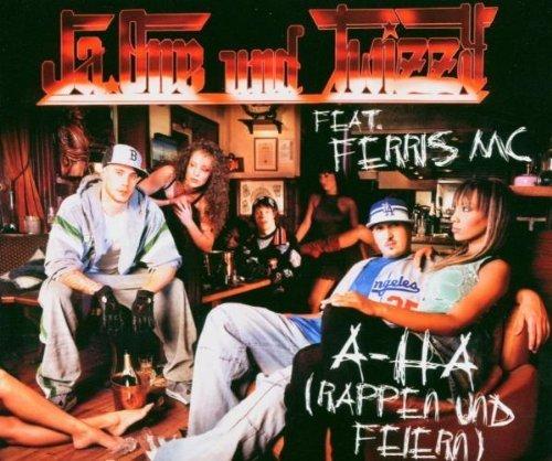 Bild 1: JaOne, A-ha (rappen und feiern; 2004, und Twizzy feat. Ferris MC)