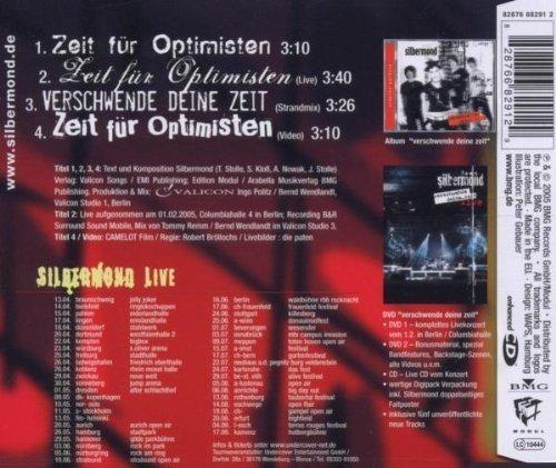 Bild 2: Silbermond, Zeit für Optimisten (2005)