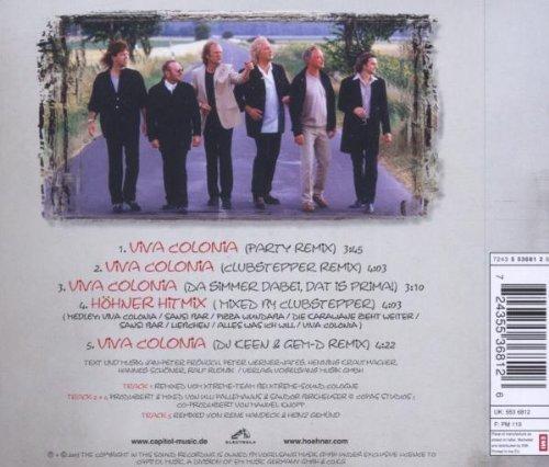 Bild 2: Höhner, Viva Colonia-Die Remixe! (2003)