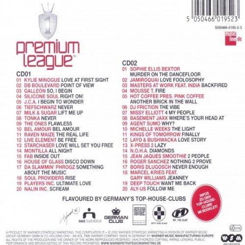 Bild 2: Premium League 1-Top of House (2002, Warner), Kylie Minogue, DB Boulevard, Galleon, Tiefschwarz, Milk & Sugar, Jamiroquai..