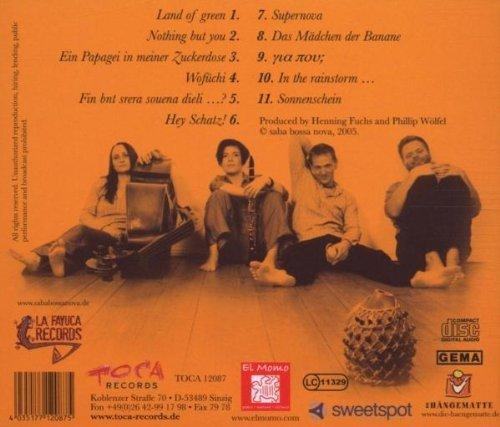 Bild 2: Saba Bossa Nova, Same (2005)