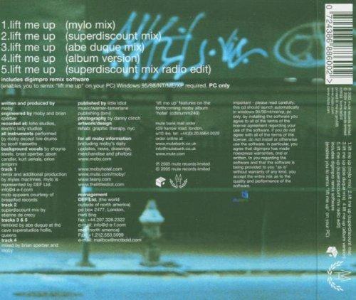 Bild 2: Moby, Lift me up (2005)